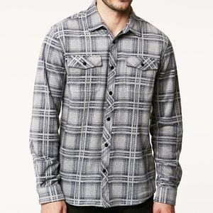 O'neill Glacier Ridge Super Fleece Flannel Shirt